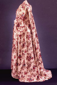 Gown of Block Printed Cotton