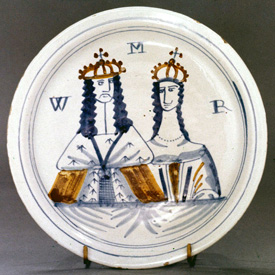 William and Mary Plate