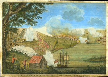 Exact View of Late Battle at Charlestown